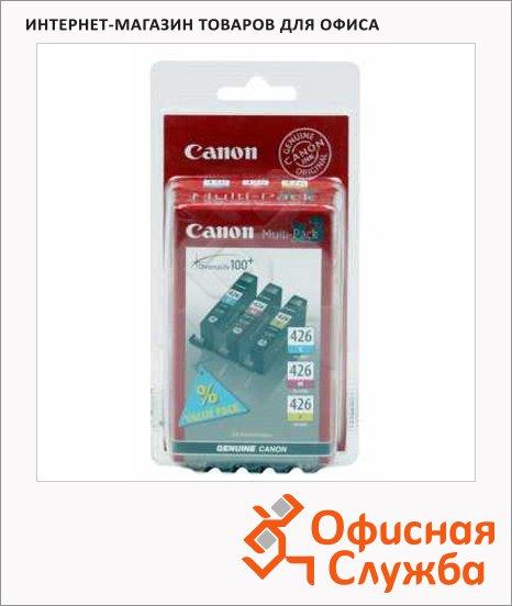 Картридж струйный Canon CLI-426MP, трехцветный, (4557B006/4557B005)