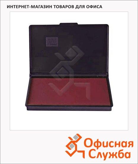 Штемпельная настольная подушка Trodat 160х90мм, краска на водной основе, красная