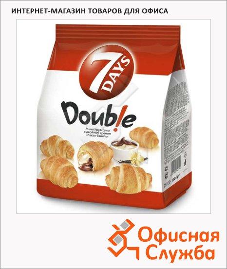 Мини-круассаны 7 Days Double какао/ ваниль