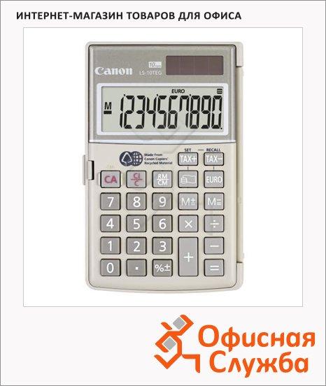 фото: Калькулятор карманный LS 10 TEG серый 10 разрядов