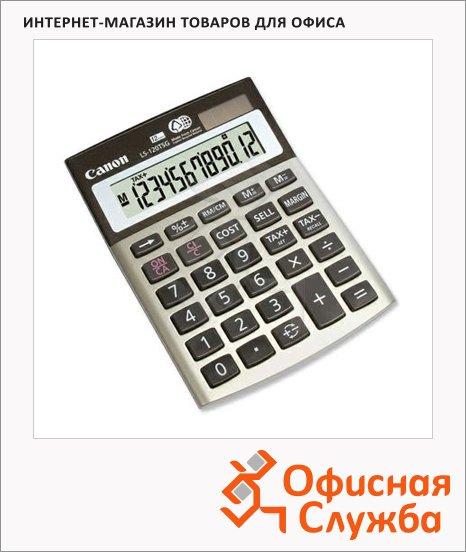 Калькулятор настольный Canon LS-120TSG серый, 12 разрядов