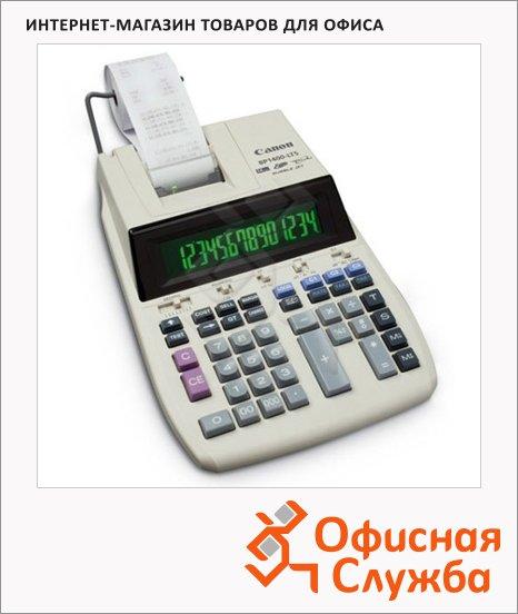 фото: Калькулятор с печатающим устройством Canon BP-1600 LTS одноцветная печать 16 разрядов