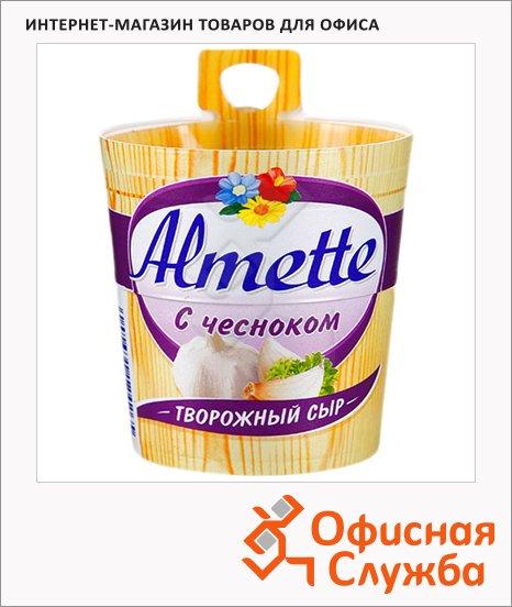 Сыр творожный Almette 60% с чесноком, 150г