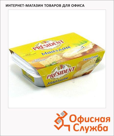 Сыр плавленый President маасдам, 30%, 200г