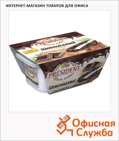 фото: Сыр плавленый President шоколадный 30% 400г