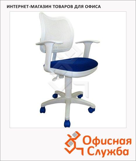 Кресло офисное Бюрократ CH-W797 ткань, крестовина пластик, белая