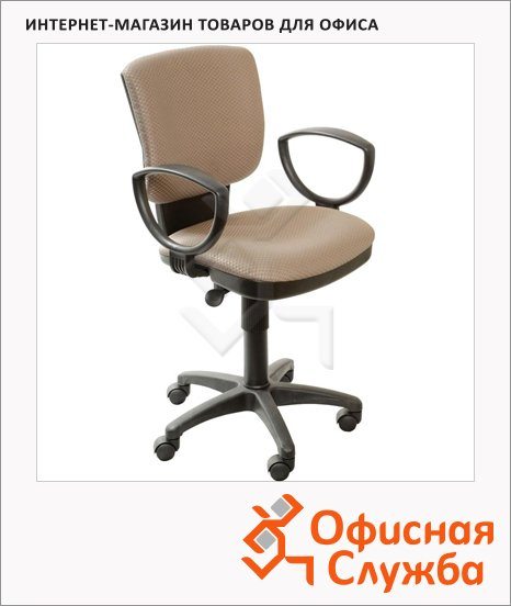 фото: Кресло офисное Бюрократ CH-626AXSN ткань серая, крестовина хром