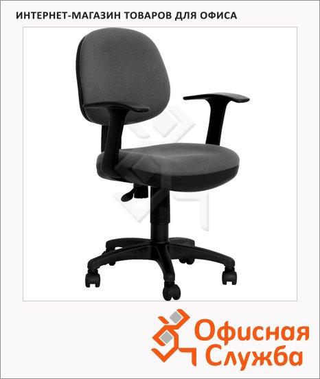Кресло офисное Бюрократ CH-356AXSN ткань, серая, крестовина пластик