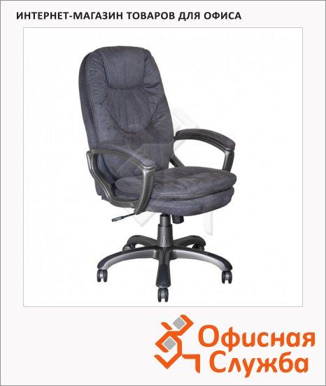 Кресло руководителя Бюрократ CH-868AXSN ткань, крестовина пластик, серая
