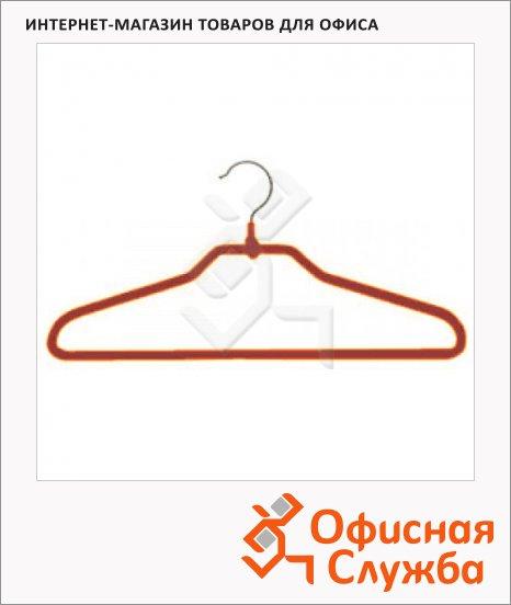 фото: Плечики для одежды Attribute 5 шт/уп 48-50 р, 43 см, оранжевый