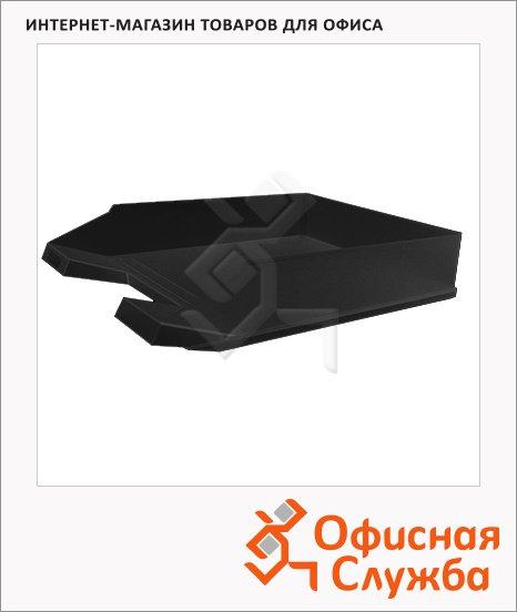 фото: Лоток горизонтальный для бумаг Economy А4 черный, 2361695