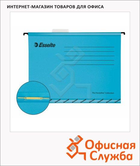 Папка подвесная стандартная А4 Esselte Standart синяя, 10 шт/уп