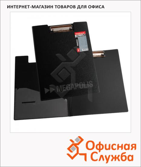 Клипборды с крышкой Erich Krause Megapolis черная, А4, 3873
