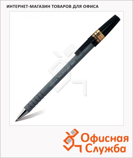 фото: Ручка шариковая Rubber 80 0.7мм, черная
