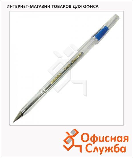Ручка шариковая Zebra The 2000metal tip синяя, 0.7мм
