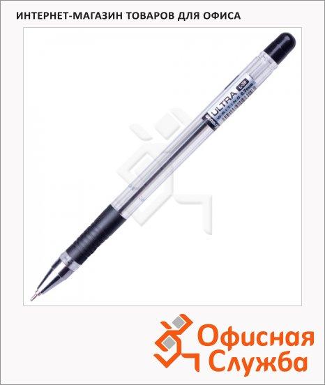 Ручка шариковая Erich Krause Ultra L-30 черная, 0.7мм