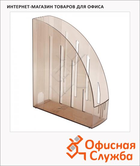 Накопитель вертикальный для бумаг Brauberg Energy А4, 85мм, тонированный, 231550
