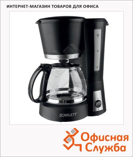 фото: Кофеварка капельная Scarlett SC-038 600Вт, черная