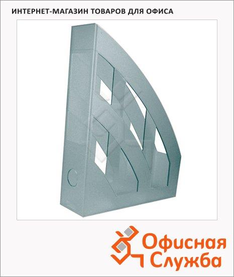 Накопитель вертикальный для бумаг Helit Economy А4, 75мм, светло-серый, 2361082