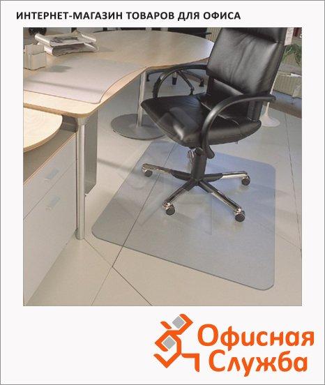 фото: Коврик под кресло Floortex прямоугольный 1200х1500мм 1,9мм, FC1215219ER, для гладкой поверхности