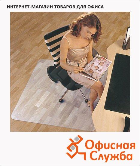 Коврик под кресло Floortex квадратный 1200х1200мм, 1,9мм, FC1212119ER, для гладкой поверхности