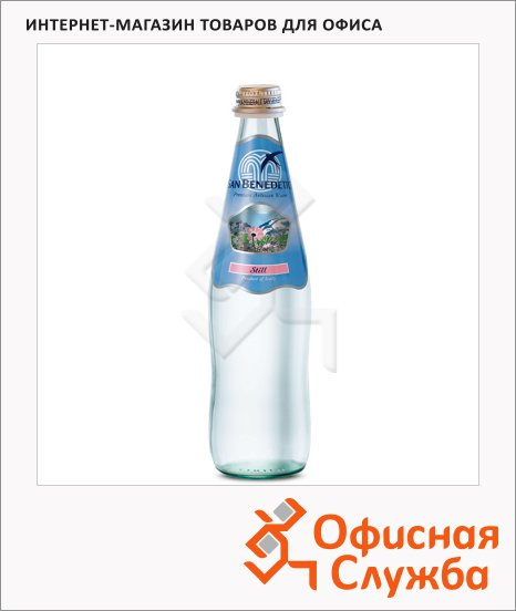 Вода минеральная San Benedetto без газа, стекло, 0.5л