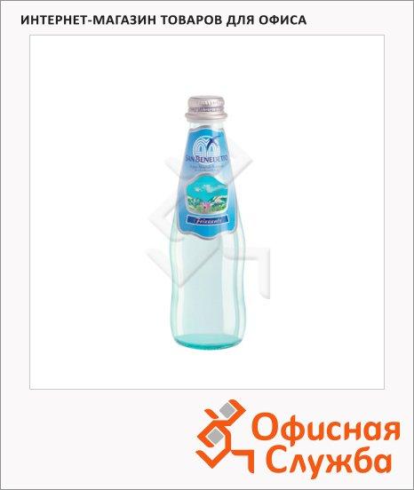 Вода минеральная San Benedetto газ, стекло, 0.25л