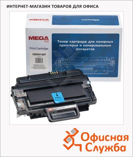 Тонер-картридж Mega 106R01487, черный повышенной емкости