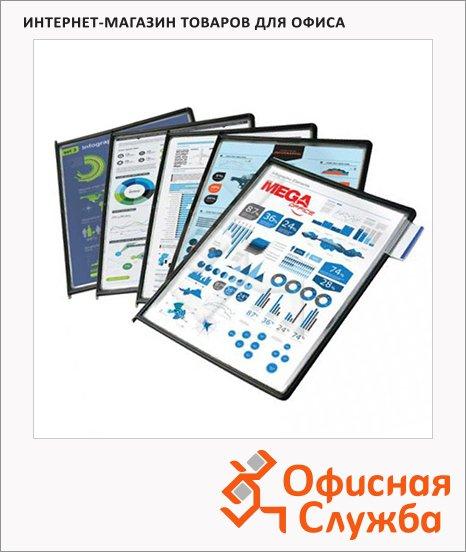 фото: Панель для демосистем Proмega Оffice FDS001 10 панелей А4, черный