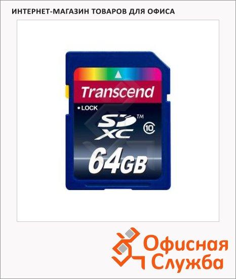 фото: Карта памяти Transcend SDXC 64Gb, 16/22 мб/с