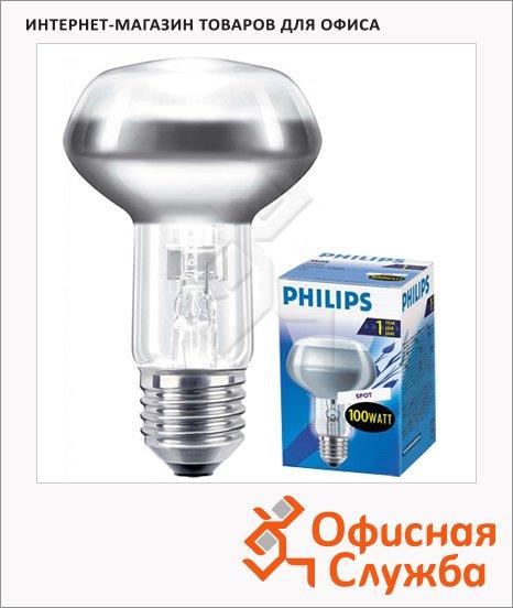 фото: Лампа накаливания Spot R80 E27, 2700К, теплый белый свет, рефлектор