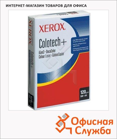 фото: Бумага для принтера Xerox Colotech+ А4 500 листов, белизна 170%CIE, 120г/м2