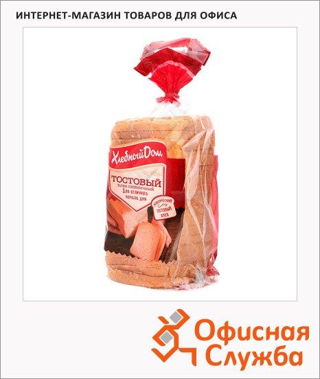 Хлеб Хлебный Дом Тостовый, 500г, в нарезке
