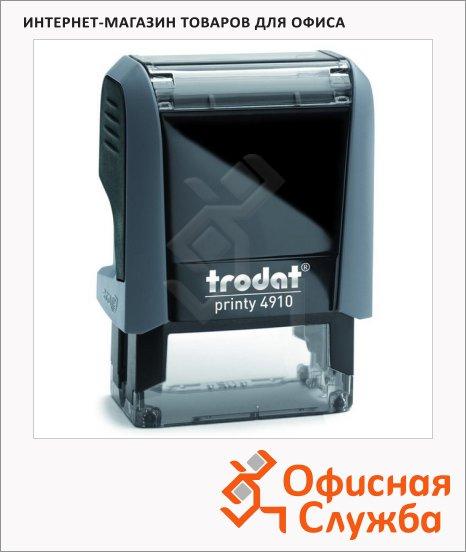 фото: Оснастка для прямоугольной печати Trodat Printy 26х9мм 4910, серая