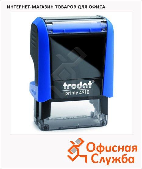 фото: Оснастка для прямоугольной печати Trodat Printy 26х9мм 4910, синяя