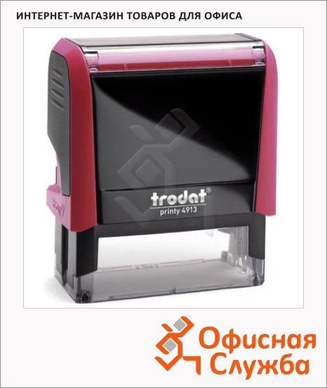 Оснастка для прямоугольной печати Trodat Printy 58х22мм, 4913, красная
