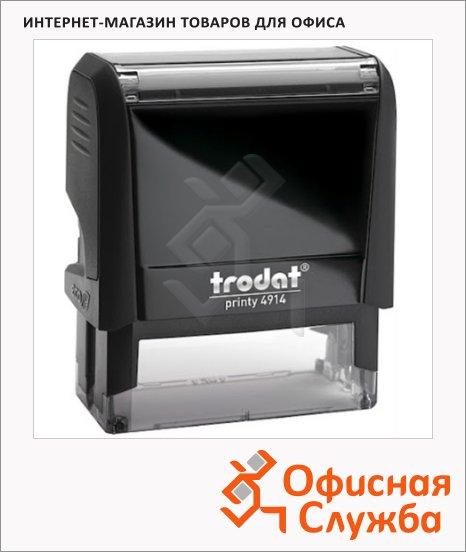 Оснастка для прямоугольной печати Trodat Printy 64х26мм, 4914, черная