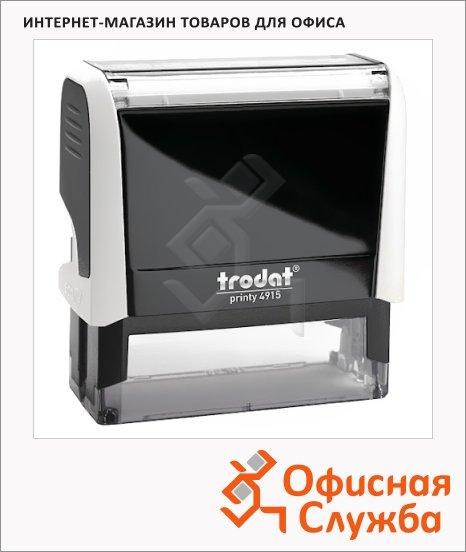 фото: Оснастка для прямоугольной печати Trodat Printy 70х25мм белая-черная, 4915