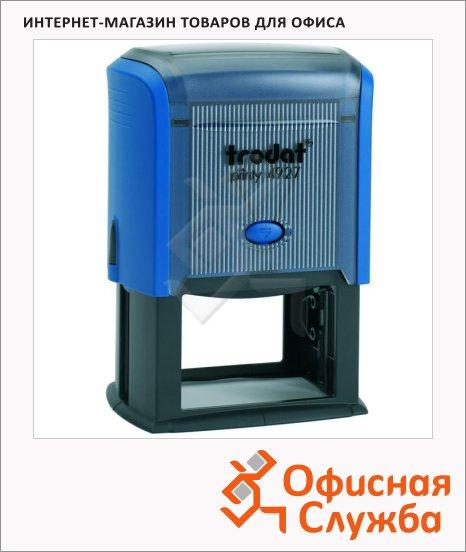 фото: Оснастка для прямоугольной печати Trodat Printy 60х40мм 4927, синяя