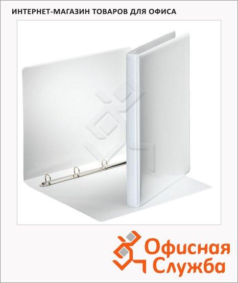 фото: Папка-панорама на 4-х кольцах А4 Esselte 30 мм белая, 49700