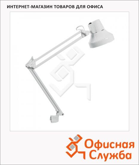 Светильник настольный на струбцине Трансвит Бета/WH, белый