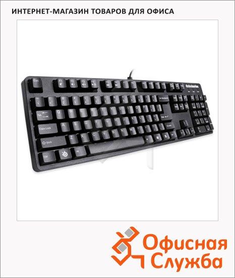фото: Клавиатура игровая USB 6Gv2 черная с позолотой