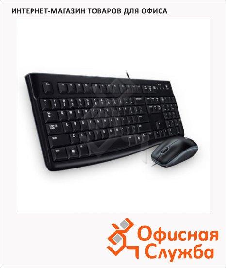 фото: Набор клавиатура и мышь проводной Classic Desktop