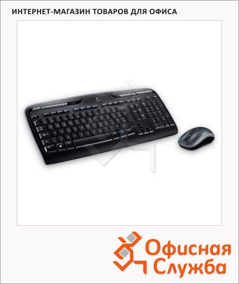 ����� ���������� � ���� ������������ Logitech Wireless Combo MK330, ������, USB