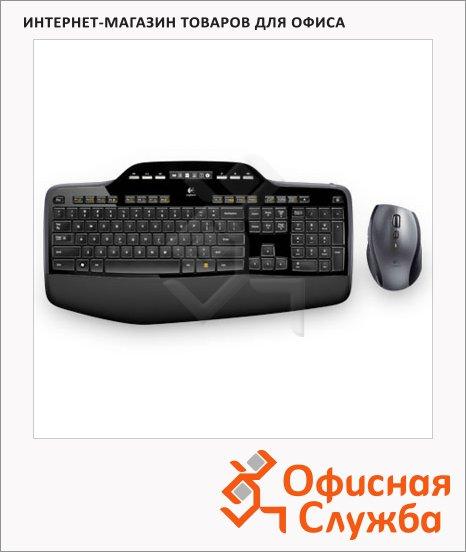 фото: Набор клавиатура и мышь беспроводной Wireless Combo MK710, USB, черный