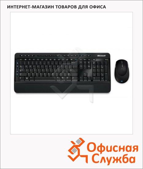фото: Набор клавиатура и мышь беспроводной M7J-00012 Retail Wireless Desktop, черный