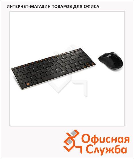 Набор клавиатура и мышь беспроводной Rapoo 9020, USB, черный