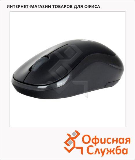 фото: Мышь беспроводная оптическая USB Wireless Mouse M175 1000dpi, черная