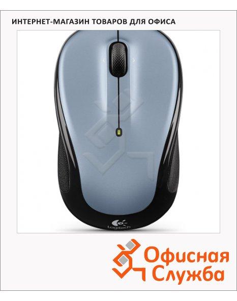 Мышь беспроводная оптическая USB Logitech Wireless Mouse M325, 1000dpi, серо-черная
