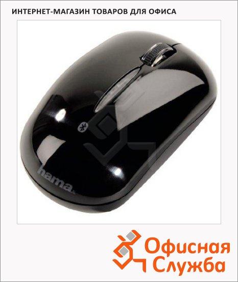 Мышь беспроводная оптическая USB Hama M2140, 1000dpi, черная